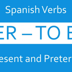 verb to be spanish